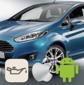 How to reset oil life on 2012 Ford Fiesta